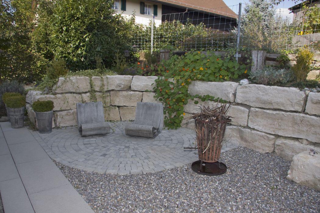 Naturstein im Garten - Gräff - Ihr Gärtner